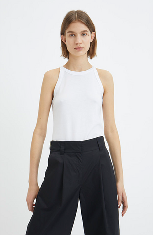 Ganni - Basic cotton jersey