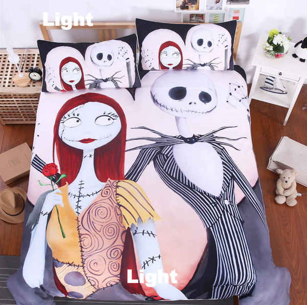 Nightmare Before Christmas Cool Bed Linen