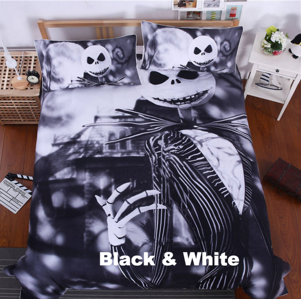 Nightmare Before Christmas Cool Bed Linen - A3IM Fashions