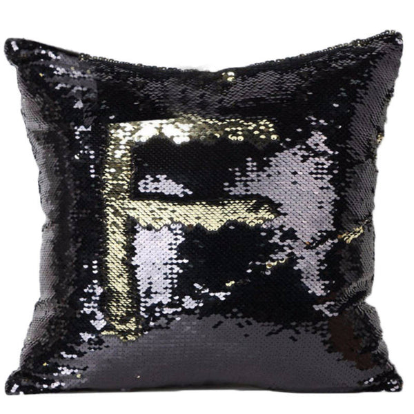 Magic Mermaid Sequin Reversible Cushion Cover 40cmX40cm Color Changing Pillow Cover - A3IM Fashions