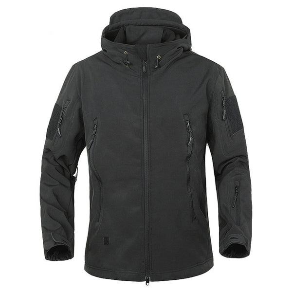 High Quality, Waterproof & Wind Resistant Military-Style Tactical Jacket