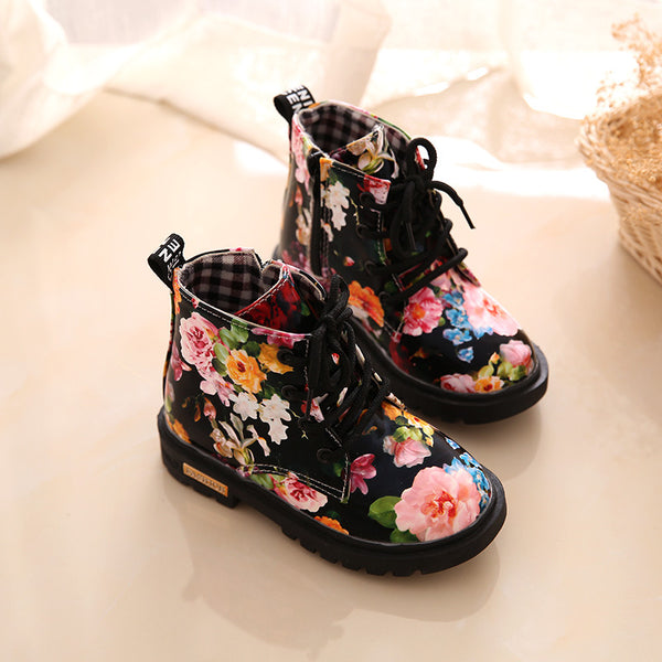 FLOWER BOOTS FOR GIRLS