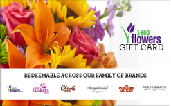 1-800 Flowers Gift Card $30
