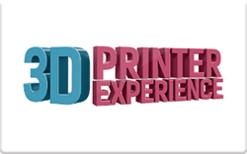 3D Printer Experience Gift Card $100