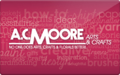 AC Moore Gift Card $121.60