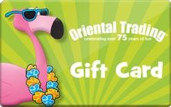 Oriental Trading Gift Card $25