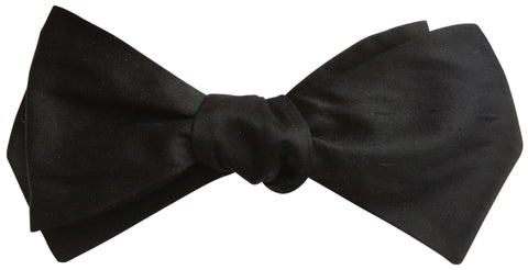 Diamond Point Self-Tie Bow Tie