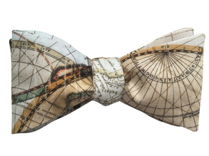 Antique Maps Bow Tie