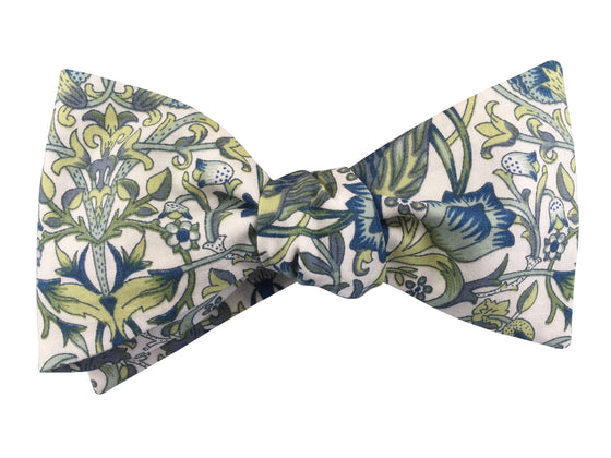 Art Deco Self-Tie Bow Tie