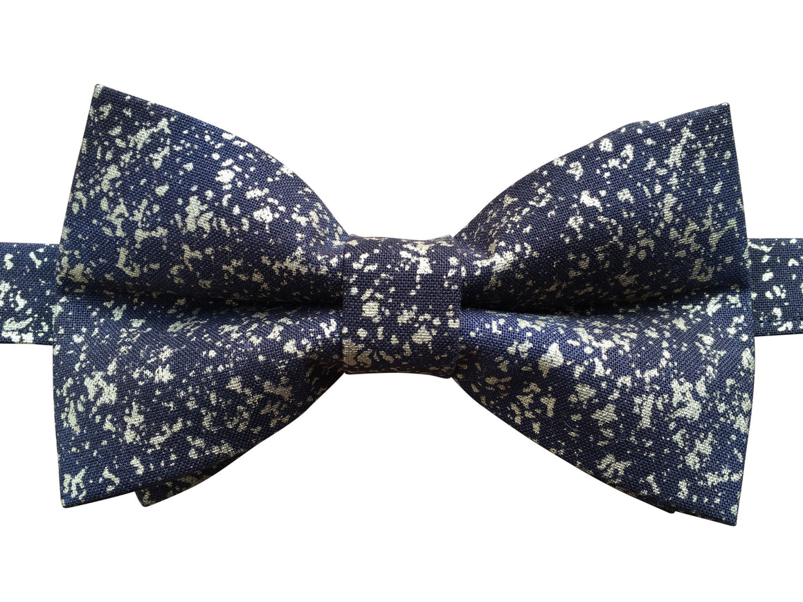 Black and Gold Bow Tie