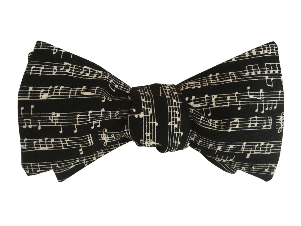 Musical Notation Bow Tie