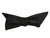 Rare Black Silk 'Wing' Self-Tie Bow Tie