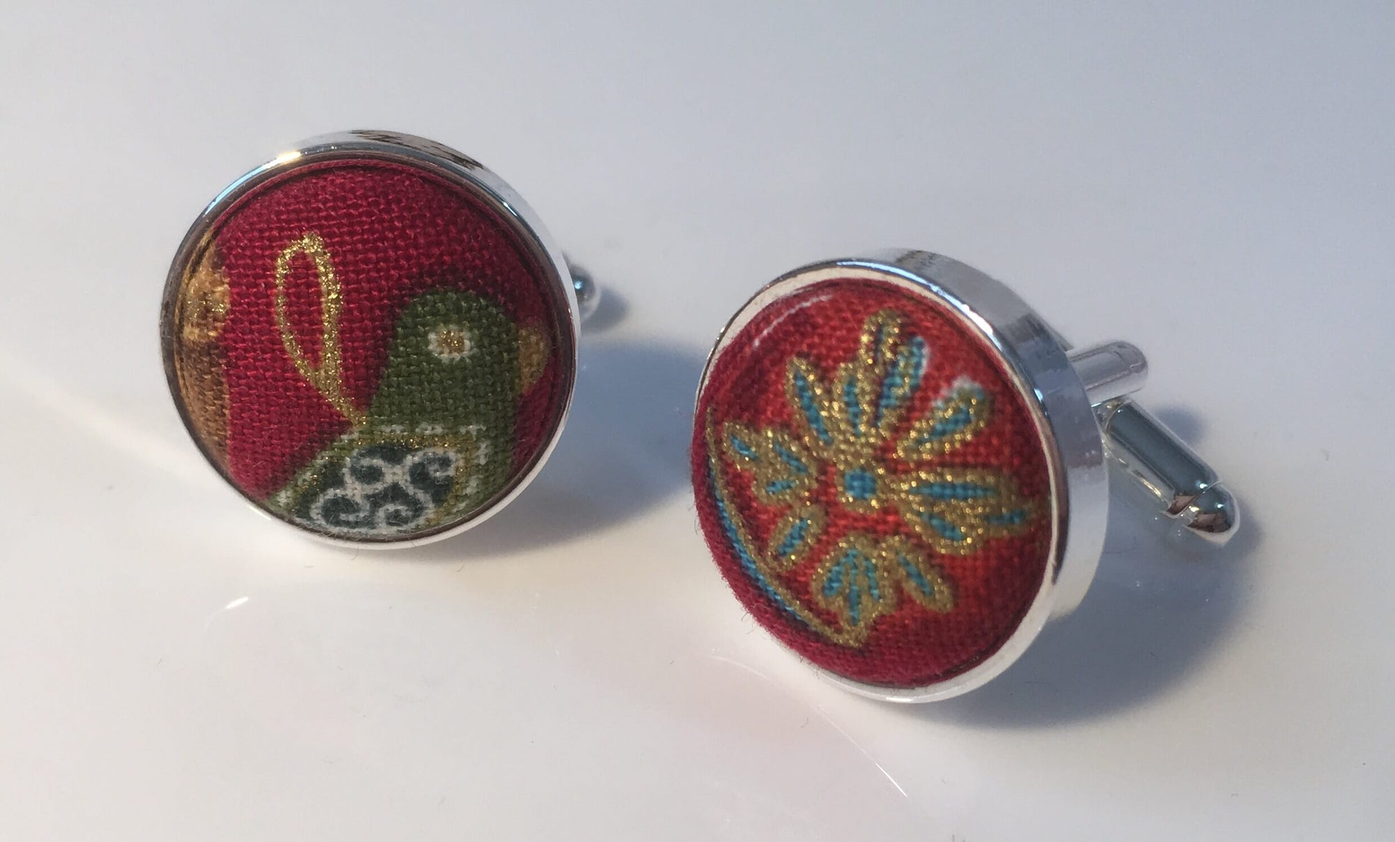 Christmas Baubles Cufflinks