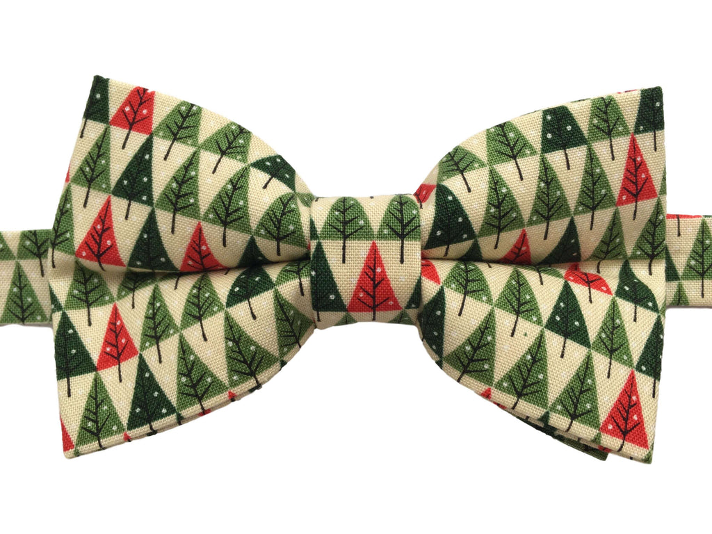 Christmas Trees Bow Tie