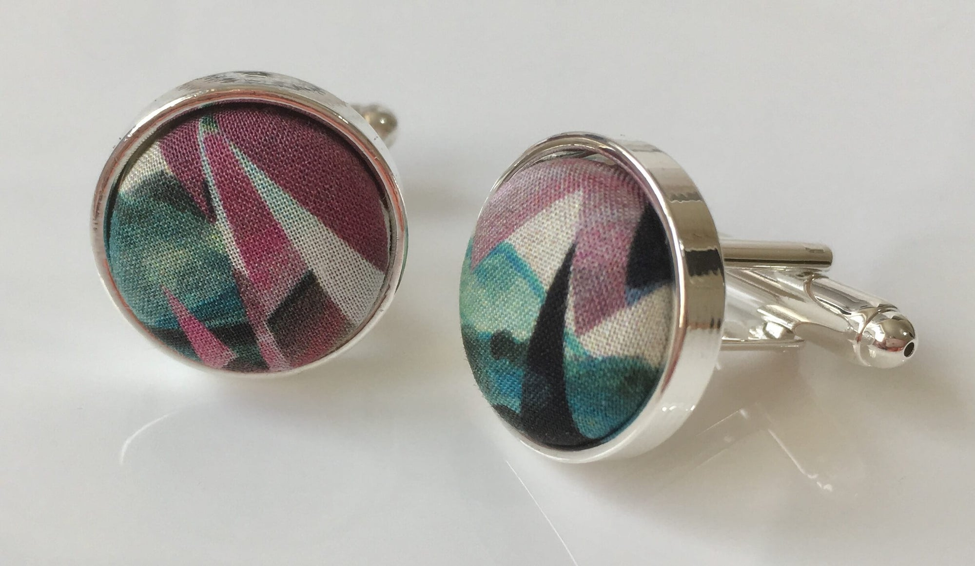 Abstract Landscape Cufflinks