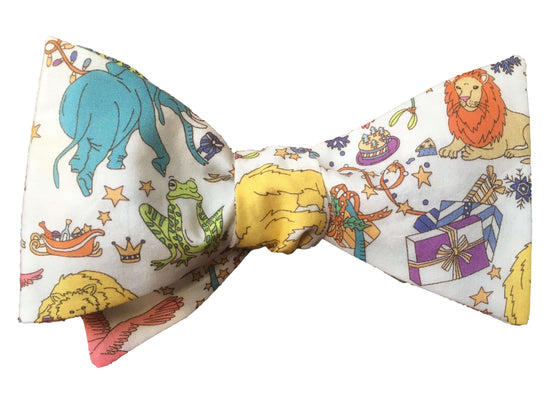 Bow Tie - Liberty Christmas Animals