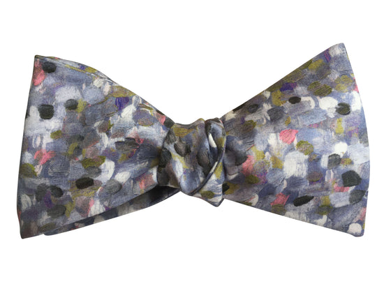 'Monet's Garden' Bow Tie Self-Tie