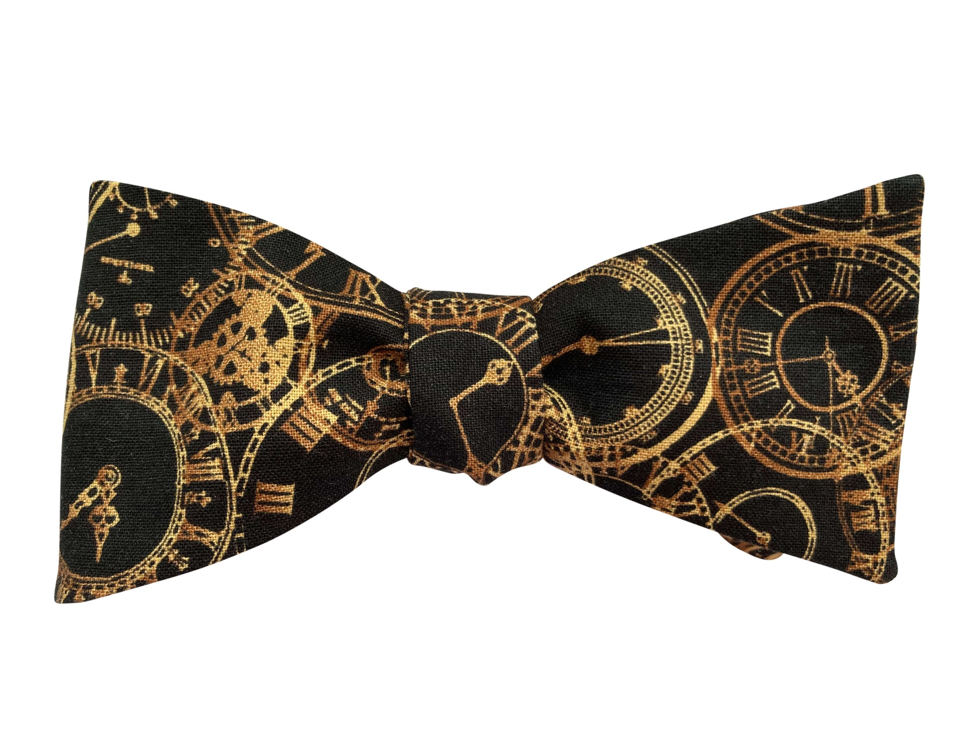 Steampunk Clocks Bow Tie