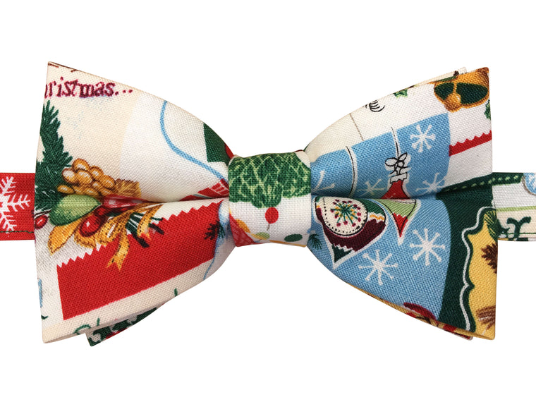 Traditional Christmas Bow Tie