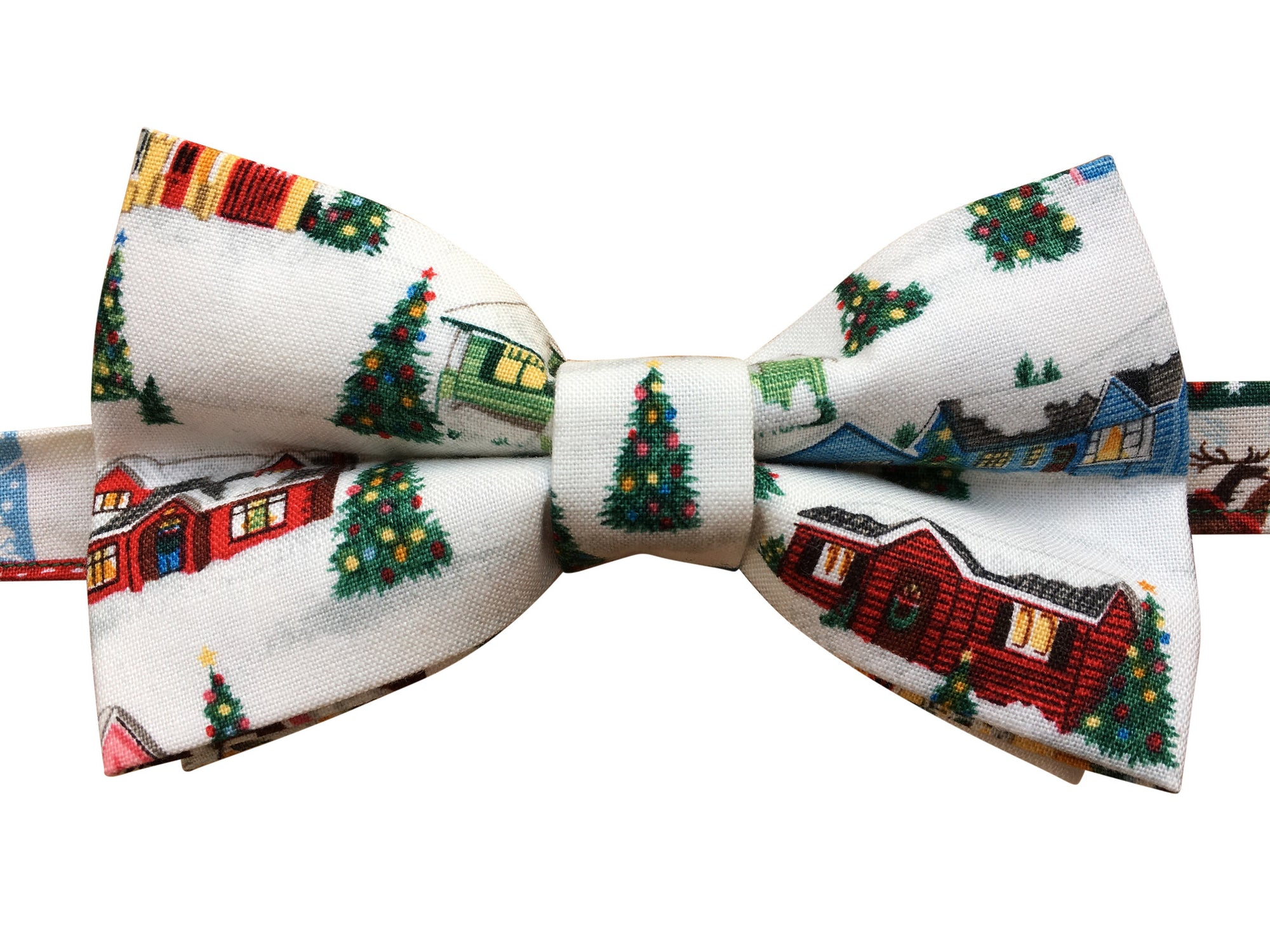 Winter Wonderland Christmas Bow Tie