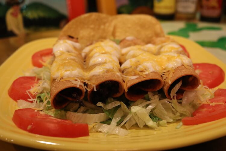 Chicken Flautas