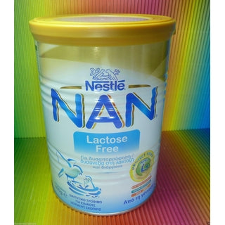 NESTLE NAN LACTOSE FREE MILK FROM BIRTH ,TIN 400g,FRESH,-moneyworld-store