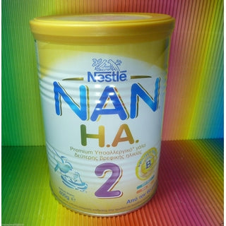NESTLE NAN 2 PREMIUM IPALERGIKO MILK FROM BIRTH ,TIN 400g,FRESH,-moneyworld-store