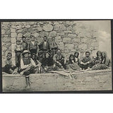 CYPRUS POSTCARD PEASANTS PAPHOS FAIR MONASTERY KYKKOS,TOUFEXIS NO.85,OLD-moneyworld-store
