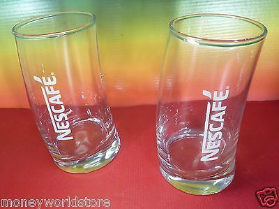 Nescafe Collectible 2 Glass For Frappe Limited edition New Design-moneyworld-store