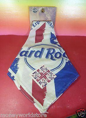 Hard Rock Cafe 1 Bandana Union Jack HRC,Brand New,Accessories-moneyworld-store
