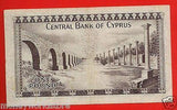 CYPRUS 1975 £1 POUND BANKNOTE,VF,J/79 218228,P#43b-moneyworld-store