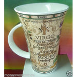 DUNOON ZODIAC MUG VIRGO THE VIRGIN MADE IN ENGLAND FINE BONE CHINA-moneyworld-store
