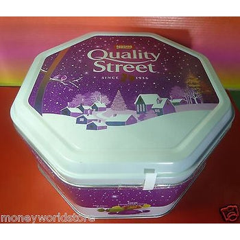 NESTLE QUALITY STREET CHOCOLATE VARIETY TIN BOX 1315g N.W-moneyworld-store