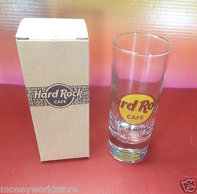 SUPER OFFER !! Hard Rock Cafe Ayia Napa 1 Shot glass HRC-moneyworld-store