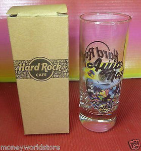 Hard Rock Cafe Ayia Napa 1 City Shot glass HRC,Brand New In Brand Box-moneyworld-store