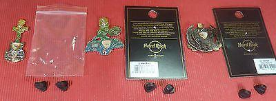 Hard Rock Cafe Cyprus 2012 Disc.&New Ayia Napa 2016 Opening & Grand Opening Pins-moneyworld-store
