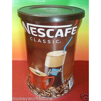 NESCAFE CLASSIC 1 TIN X 200g FOR FRAPPE , 100% ORIGINAL COFFEE,FRESH-moneyworld-store