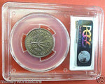 PCGS MS64 CYPRUS 1955 50 MILS COPPER-NICKEL COIN,QEII-moneyworld-store