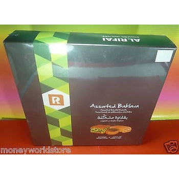 ALRIFAI ASSORTED BAKLAVA 1 PACK 900g ORIENTAL SWEETS,IRRESISTIBLE,LEBANON TREATS-moneyworld-store