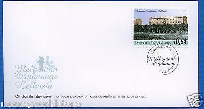 NEW ISSUE CYPRUS 2015 FDC ,MINT,JOINT ISSUE CYPRUS-ARMENIA,MELKONIAN INSTITUTE-moneyworld-store
