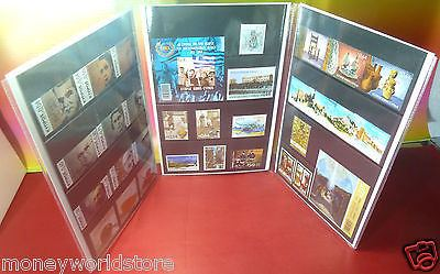 CYPRUS SPECIMEN 2015 COMPLETE SET OFFICIAL PLASTIC CASE,MNH,GREECE-moneyworld-store
