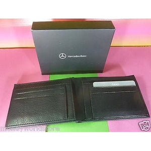 MERCEDES-BENZ collection CREDIT CARD BLACK WALLET MADE IN INDIA,NEW,B66951353-moneyworld-store
