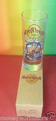 HARD ROCK CAFE CYPRUS 2012 1 SHOT GLASS HRC NICOSIA,MINT,UNIQUE*DISCONTINUED - moneyworld-store