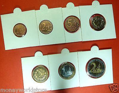 SLOVENIJA  2004 SPECIMEN 1,2,5,10,20 CENT AND 1& 2 EURO  COIN,PATTERN, PROBE - moneyworld-store