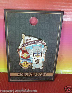 HARD ROCK CAFE CLEVELAND TOWER CITY 2016 18TH AN. PIN LE300-moneyworld-store