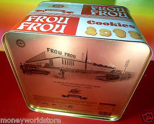 FROU FROU 1 TIN COOKIES 1400g Anniversary 50 years Biscuits Quality-moneyworld-store