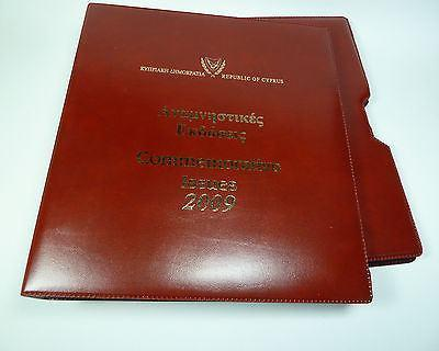 CYPRUS 2009 COMM.STAMPS MNH & FDCs,FDC,LUXURIOUS ALBUM-moneyworld-store