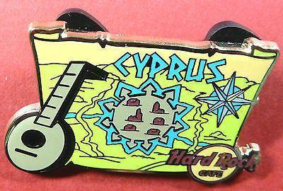 CYPRUS HARD ROCK CAFE 2012 *VENETIAN WALLS PIN*NICOSIA *NEW,DISCONTINUED-moneyworld-store