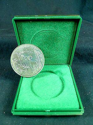 Cyprus 1986 £1 UNC COIN World Wildlife Fund in official case Greece,Green Peace-moneyworld-store
