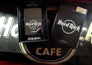 CYPRUS 2012 HARD ROCK CAFE CHROME*ZIPPO CIGARETTE LIGHTER*NEW,DISCONTINUED-moneyworld-store
